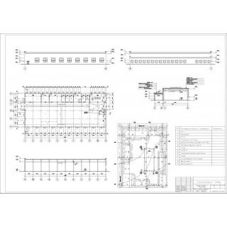 """Дипломная работа на тему """"Проектирование ремонтной мастерской для автохозяйств с парком 75 тракторов"""""""