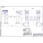 Реконструкции ремонтной мастерской с разработкой электромеханического подъемника