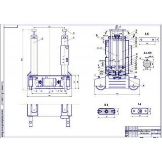 """Дипломная работа на тему """"Совершенствование технологического процесса диагностики автомобилей разработкой подъёмника для вывешивания мостов автомобиля"""""""