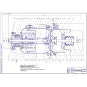 Усовершенствование тормозной камеры с пружинным энергоаккумулятором пневмопривода автомобиля КамАЗ с применением механизма фиксирования поршня