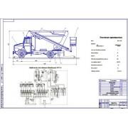 Автоподъемник ПАРТ-24 на шасси ЗиЛ-433112