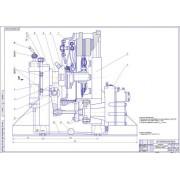 Разработка агрегатного участка и стенда для испытания пневмогидроусилителя сцепления