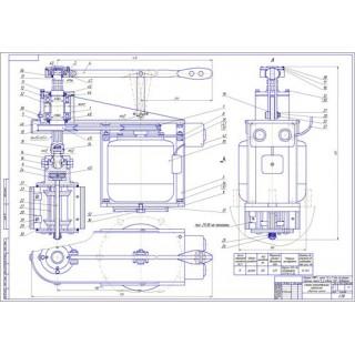 """Дипломная работа на тему """"Разработка приспособления для полировки рабочей поверхности цилиндра двигателя"""""""
