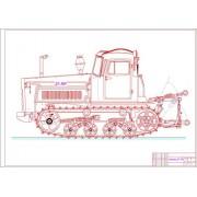 Разработка стенда по ремонту муфты сцепления трактора ДТ-75М