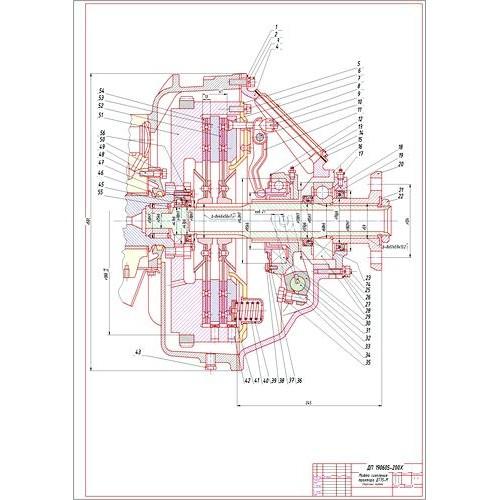 работа на тему Разработка стенда по ремонту муфты сцепления  Дипломная работа на тему Разработка стенда по ремонту муфты сцепления трактора ДТ 75М