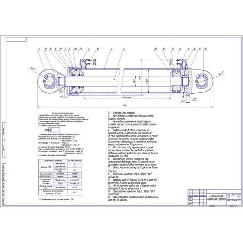 Дипломная работа на тему Проектирование участка по обслуживанию и  Дипломная работа на тему Проектирование участка по обслуживанию и ремонту гидрооборудования с разработкой ножничного подъемника
