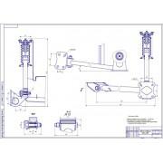 Проектирование участка по ремонту ходовой части легковых автомобилей с разработкой двухстоечного подъемника