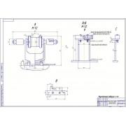 Разработка участка шиномонтажа с разработкой стенда для правки дисков ободов колес
