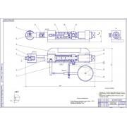 Проект реконструкции ремонтной мастерской с разработкой устройства для накатки пружин