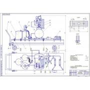 Проект пункта технического обслуживания тракторов и автомобилей с разработкой установки для замены масла