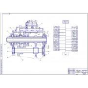 Реконструкции ЦРМ с разработкой конструкции установки для разборки и сборки КПП МТЗ-1221
