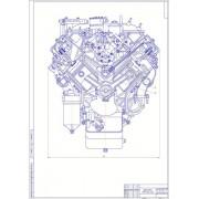 Модернизация дизельного двигателя для грузового автомобиля КамАЗ рабочим объёмом 10-11 л путём применения турбонадува