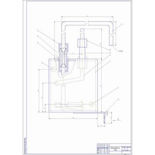 """Дипломная работа на тему: """"Модернизация дизельного двигателя КамАЗ-740 с целью перевода его на газодизель с разработкой регулятора топливного насоса"""""""
