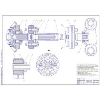 """Дипломная работа на тему: """"Модернизация трактора тягового класса 3 с разработкой гидродинамической трансмиссии"""""""