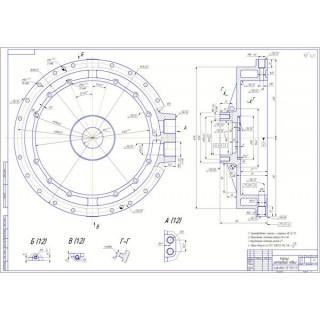 Дипломная работа на тему: Проектирование предприятия по ТО и Р автопоездов с разработкой гидравлического ретардера для седельного тягача Volvo FH