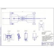 Проектирование СТО грузовых автомобилей с разработкой передвижного грузоподъемного крана 1т