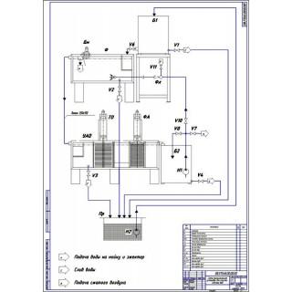 Дипломная работа на тему: Разработка технологии и поста ТО-1 автомобилей с разработкой конструкции установки для очистки сточных вод