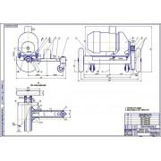 Реконструкция машинно-тракторной мастерской с разработкой конструкции гайковерта для откручивания гаек колес
