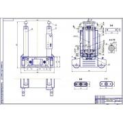 Реконструкция зоны ТО автомобилей с разработкой электромеханического подъёмника