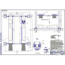 Совершенствование производственно-технической базы с разработкой четырехстоечного электрогидравлического подъемника
