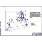 Включение теплообменника в систему смазки рядного двигателя повышенной мощности модификации 64Н 1214 (СМД-31)
