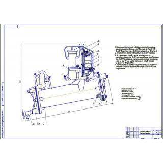 """Дипломная работа на тему: """"Включение теплообменника в систему смазки рядного двигателя повышенной мощности модификации 64Н 1214 (СМД-31)"""""""