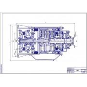 Конструирование и расчет легкового автомобиля ВАЗ-2104 с гидромеханической трансмиссией