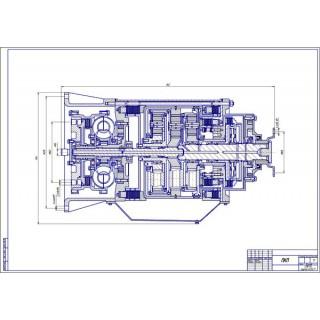 """Дипломная работа на тему: """"Конструирование и расчет легкового автомобиля ВАЗ-2104 с гидромеханической трансмиссией"""""""