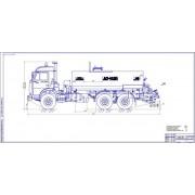 Модернизация коробки передач и левой коробки отбора мощности автогудронатора на базе КамАЗ-5302