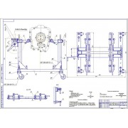 Реконструкция моторного участка ПАЗ - Стенд универсальный для разборки-сборки двигателей