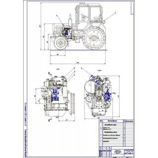 Дипломная работа на тему: Проект модернизации системы питания двигателя Д-21 путем установки системы Сommon Rail