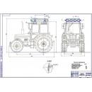 Проект модернизации системы питания трактора Беларус-820 для работы на КПГ