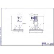 Приспособление для разборки и сборки топливного насоса высокого давления трактора К-701