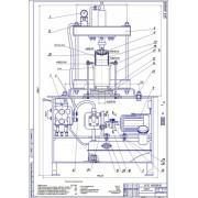 Разработка установки для запрессовки стальных лент в гильзы цилиндров