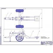 Разработка транспортировочной тележки