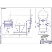Модернизация стенда для ремонта барабана молотильного устройства комбайнов Дон-1500Б
