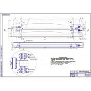 Разработка электрогидравлического четырёхстоечного подъёмника