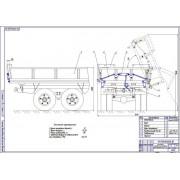 Разработка устройства для автоматического открывания и закрывания бортов автомобилей и прицепов