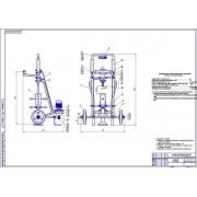 Разработка стенда для выпрессовки шкворней поворотных кулаков автомобилей