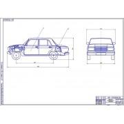 Проект ГБО на автомобиле ВАЗ-21074