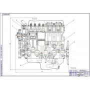 Модернизация ДВС ЗМЗ-406 с усовершенствованием системы охлаждения двигателя