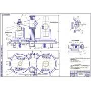 Разработка прибора для контроля крестовин карданного вала трактора К-701