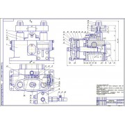 Разработка кондуктора скальчатого с пневматическим зажимом