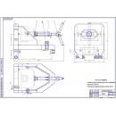 Приспособление для расточки корпусов насосов типа НШ
