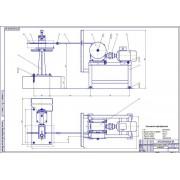 Стенд для протяжки сердцевины автотракторных радиаторов