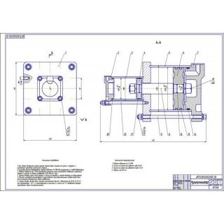 """Дипломная работа на тему: """"Стенд для проверки тормозных систем КИ-248"""""""