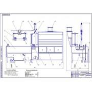 Стенд для обслуживания радиаторов