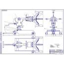 Разработка тележки для перевозки, снятия и установки колёс