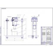 Проект реконструкции ремонтной мастерской с разработкой конструкции гидравлического пресса для запрессовки и выпрессовки подшипников