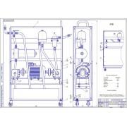 Проект реконструкции ремонтной мастерской с разработкой установки для промывки системы смазки двигателя